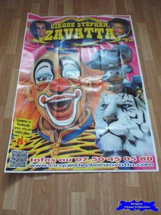 Affiche murale du Cirque Zavatta (Stéphan) (n°568)