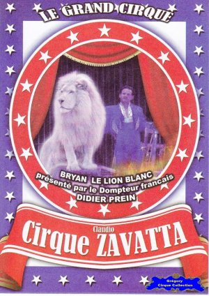 Flyer du Cirque Zavatta (Claudio)-2014 (n°1225)
