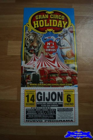 Affiche magasin du Gran Circo Holiday-2012/2013 (n°543)