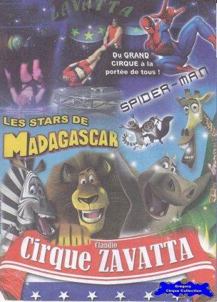 Flyer du Cirque Zavatta (Claudio)-2014 (n°1223)