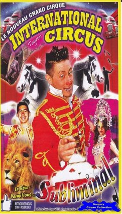 Flyer de l'International Circus-2015 (n°1240)