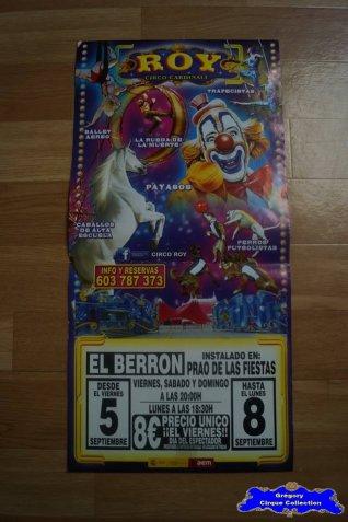 Affiche magasin du Cirque Cardinali (Roy)-2013 (n°549)