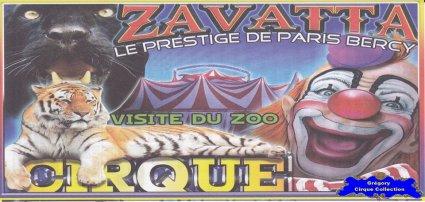 Flyer du Cirque Zavatta (Sébastien)-2013 (n°1231)