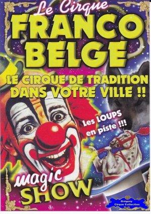 Flyer du Cirque Franco Belge-2015 (n°1193)