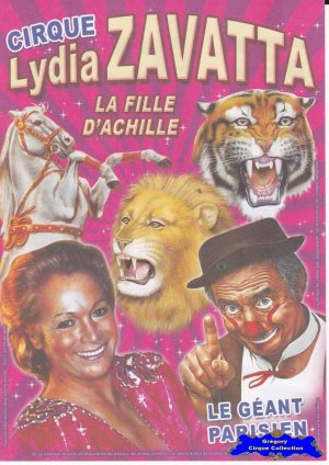 Flyer du Cirque Zavatta (Lydia)-2015 (n°1081)