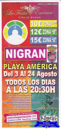 Flyer de La Fiesta Escénica-2014 (n°1125)