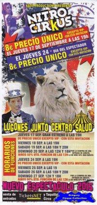 Flyer du Cirkus Kaos-2015 (n°1096)