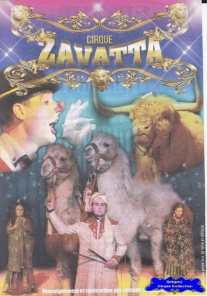 Flyer du Cirque Zavatta (Nicolas)-2015 (n°1219)