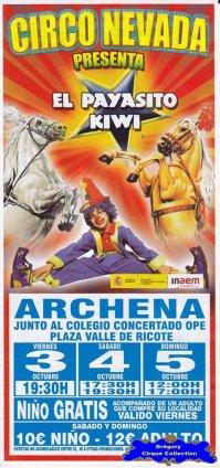 Flyer du Circo Nevada (n°1120)
