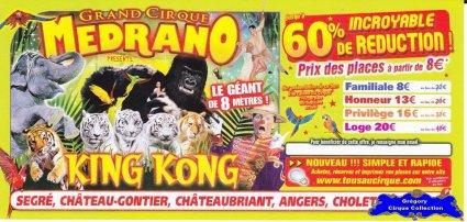 Flyer du Cirque Médrano-2015 (n°1218)