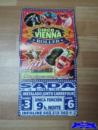 Affiche magasin du Circo de Vienna-2015 (n°554)