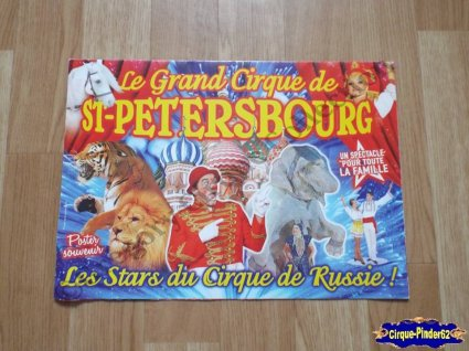 Programme du Grand Cirque de Saint Pétersbourg-2011 (n°102)