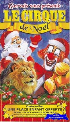 Flyer du Cirque Gervais-2014/2015 (n°1238)