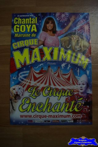 Affiche magasin du Cirque Maximum-2015 (n°537)