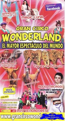 Flyer du Gran Circo Wonderland-2013 (n°1113)