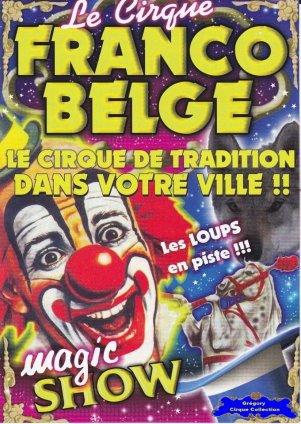 Flyer du Cirque Franco Belge-2015 (n°1192)