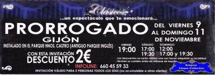 Flyer du Circo Rody Aragon (n°1155)