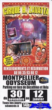 Flyer du Cirque Zavatta (Henri)-2013/2014 (n°1230)