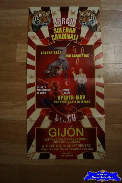 Affiche magasin du Cirque Cardinali (Soledad)-2012 (n°540)