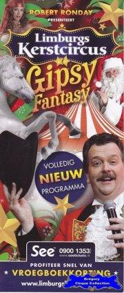 Flyer du Cirque de Noël (Limburgs Kerstcircus)-2014/2015 (n°1208)