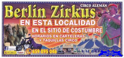 Flyer du Berlin Zirkus (n°1122)