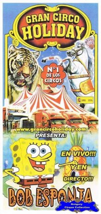 Flyer du Gran Circo Holiday-2010 (n°1136)