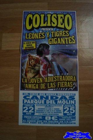 Affiche magasin du Circo Coliseo-2014 (n°546)