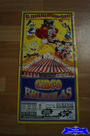 Affiche magasin du Circo Bruselas (n°548)