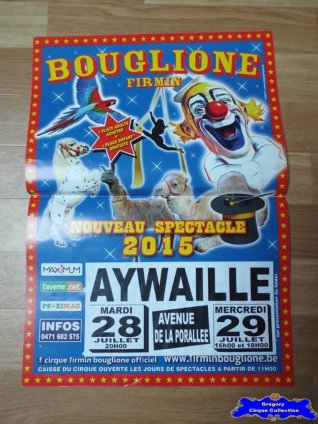 Affiche magasin du Cirque Bouglione (Firmin)-2015 (n°564)