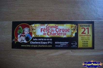 Bon de réduction de La Grande Fête du Cirque de Charleroi-2015