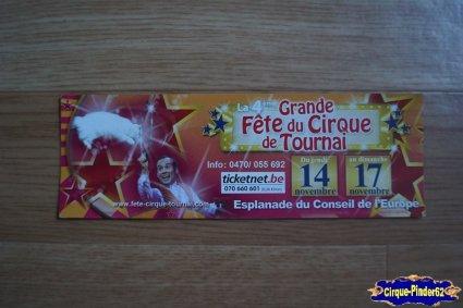 Bon de réduction de La Grande Fête du Cirque de Tournai-2013