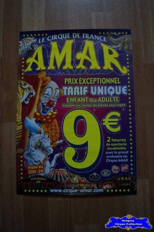 Affiche magasin du Cirque Amar-2006 (n°589)