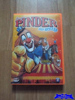 Dvd du Cirque Pinder-2004