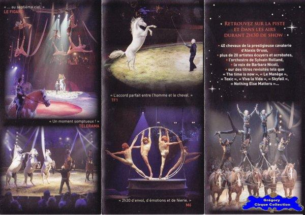 Flyer du Cirque Gruss (Alexis)-2016 (n°1273)