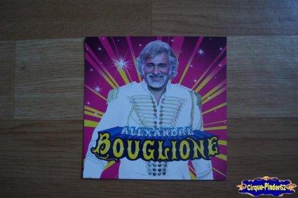 Carte du Cirque Bouglione (Alexandre)