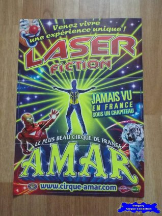 Affiche magasin du Cirque Amar-2015 (n°572)