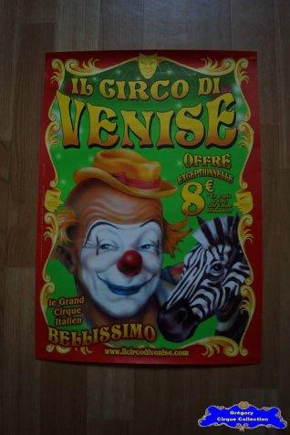 Affiche magasin du Cirque de Venise (n°590)