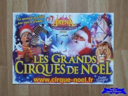 Programme du Cirque de Noël (Arena Production)-2015 (n°112)