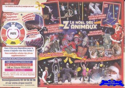 Flyer Le Noël des Z'Animaux-2015 (n°1271)