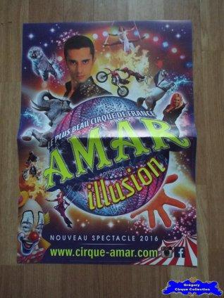 Affiche magasin du Cirque Amar-2016 (n°580)