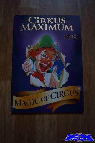Programme du Cirkus Maximum-2015 (n°115)