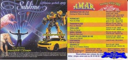 Flyer du Cirque Amar-2015 (n°1253)