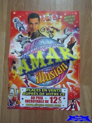 Affiche magasin du Cirque Amar-2016 (n°579)