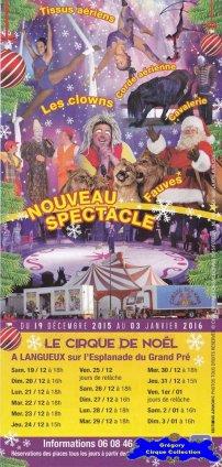 Flyer du Cirque Gervais-2015/2016 (n°1259)