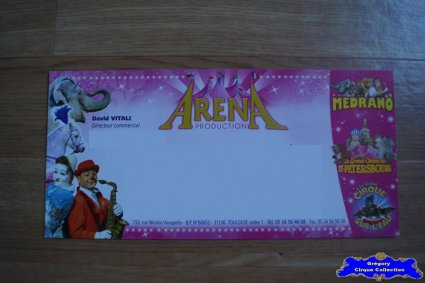 Carte d'Arena Production