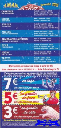 Flyer du Cirque Amar-2015 (n°1268)