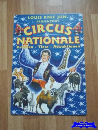 Affiche plastique du Cirque Knie (Louis Jun) (n°577)