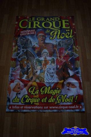 Affiche murale du Cirque de Noël (Arena Production)-2015 (n°583)