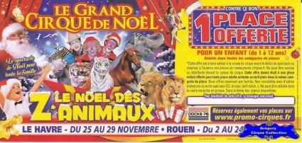 Flyer Le Noël des Z'Animaux-2015 (n°1272)
