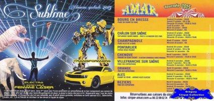 Flyer du Cirque Amar-2015 (n°1267)